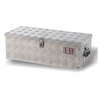 Aluminium Checker Plate ToolBox (765mm wide)