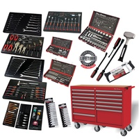 "One Eleven 364pc Tool Kit in 13 Drawer 52"" Red Trolley ( Online Only )"